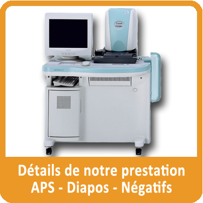 details prestation numerisation negatifs aps diapositives orange