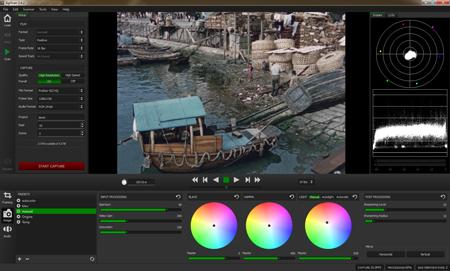 Agiscan : Logiciel de numrisation de films super8