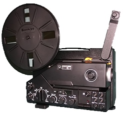 projecteur film super8