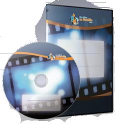 jaquette transfert vidéo sur DVD