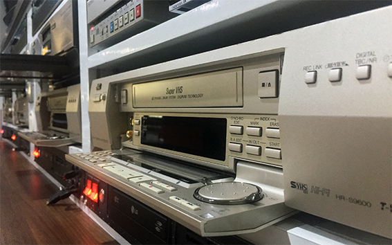 magnétoscope VHS et VHS-C pour numériser des cassettes
