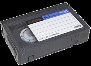 numériser cassette vhsc