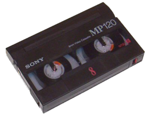 numériser cassette hi8 video8